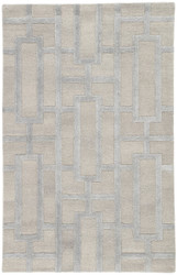 8' x 11' Area Rug Rectangle Beige Silver City Dallas CT112 Handmade Hand-Tufted