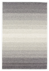 9' x 13' Area Rug Rectangle Gray Beige Catalina Blaze CAT57 Handmade Hand-Hooked