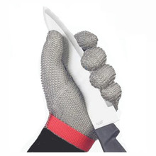 Reliable Factory Supply Stainless Steel Mesh Safety Glove Wrist Length
