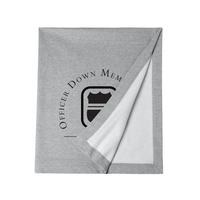 ODMP Logo Sweatshirt Blanket - Gray