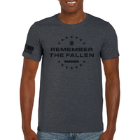 Remember the Fallen T-Shirt - Charcoal