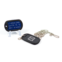ODMP Personalized Dog Tags Honoring Fallen Officers