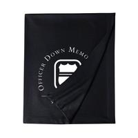 ODMP Logo Sweatshirt Blanket - Navy