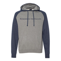 Remember the Fallen Raglan Hoodie