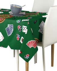 Casino Night Signature Rectangle Tablecloths