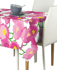 Pink Peony Milliken Signature Rectangle Tablecloths