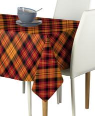 Fall Harvest Plaid Milliken Signature Rectangle Tablecloths