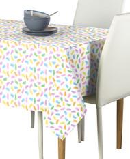 Baby Foot Prints Multi Milliken Signature Rectangle Tablecloths