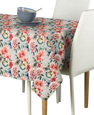 Floral & Feathers Milliken Signature Rectangle Tablecloths