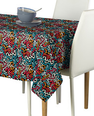 Graffiti Art Milliken Signature Rectangle Tablecloths