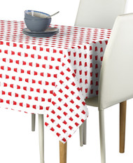 Beer Pong Red Cups Milliken Signature Rectangle Tablecloths