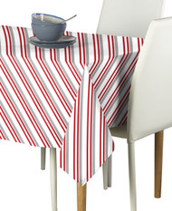 Peppermint Stripe Milliken Signature Tablecloth