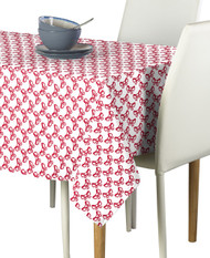 Red Bows Milliken Signature Rectangle Tablecloths