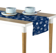 Winter Blue Snowflakes Table Runner - Assorted Sizes