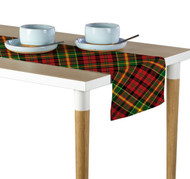 Christmas Plaid Red & Green Table Runner - Assorted Sizes