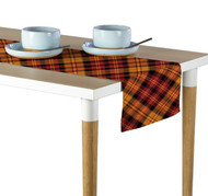 Fall Harvest Plaid Table Runner - Assorted Sizes