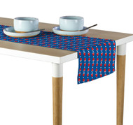 Blue Beer Pong Cups Table Runner - Assorted Sizes