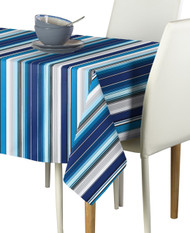 Mexican Blanket Blue Milliken Signature Rectangle Tablecloths
