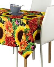 Sunflower Garden Milliken Signature Rectangle Tablecloths