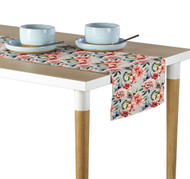 Floral & Feathers Table Runner - Assorted Sizes