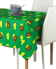 Pots of Gold Green Milliken Signature Rectangle Tablecloths