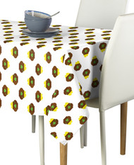 Pot of Gold Coins Milliken Signature Rectangle Tablecloths
