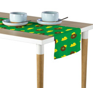 Pot of Gold Green Table Runner - Assorted Sizes