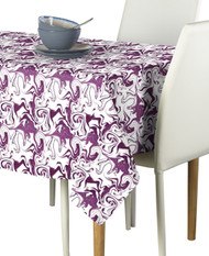 Marble Purple Marble Milliken Signature Rectangle Tablecloths