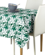 Marble Green Marble Milliken Signature Rectangle Tablecloths