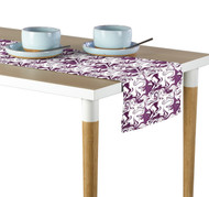 Marble Purple Marble Milliken Signature Table Runner - Assorted Sizes