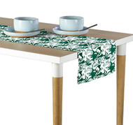 Marble Green Marble Milliken Signature Table Runner - Assorted Sizes