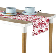 Marble Red Marble Milliken Signature Table Runner - Assorted Sizes
