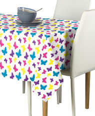 Butterfly Multi Milliken Signature Rectangle Tablecloths