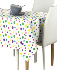 Spring Dot All Over Multi Milliken Signature Rectangle Tablecloths