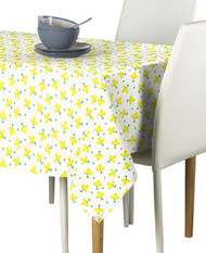 Yellow Spring Flowers Milliken Signature Rectangle Tablecloths