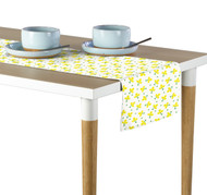 Yellow Spring Flowers Milliken Signature Table Runner - Assorted Sizes