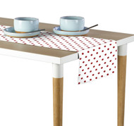 Red Nautical Dots Milliken Signature Table Runner - Assorted Sizes
