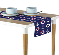 Anchors & Life Savers Milliken Signature Table Runner - Assorted Sizes