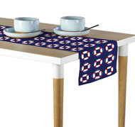 Life Saver Float Blue Milliken Signature Table Runner - Assorted Sizes