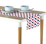 American Stars Red & Blue Milliken Signature Table Runner - Assorted Sizes
