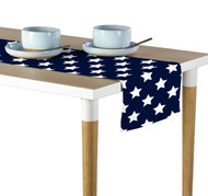 Freedom Stars Navy Milliken Signature Table Runner - Assorted Sizes