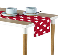 Freedom Stars Red Milliken Signature Table Runner - Assorted Sizes