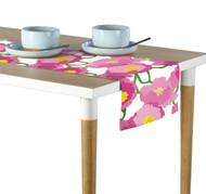 Pink Peony Milliken Signature Table Runner - Assorted Sizes