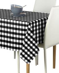 Black Picnic Check Milliken Signature Rectangle Tablecloths