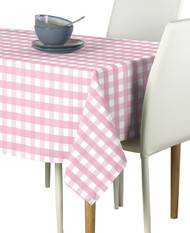 Pink Picnic Check Milliken Signature Rectangle Tablecloths