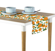 Pumpkin Patch Scroll White Milliken Signature Table Runner - Assorted Sizes