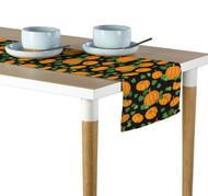 Pumpkin Patch Scroll Black Milliken Signature Table Runner - Assorted Sizes