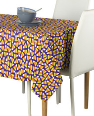 Candy Corn Purple Milliken Signature Rectangle Tablecloths