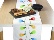 Christmas Lights Border Milliken Signature Table Runner - Assorted Sizes