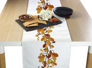 Fall Foliage Border Milliken Signature Table Runner - Assorted Sizes
